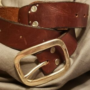 Lucky Brand distressed leather belt